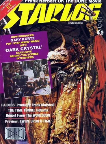 Starlog Magazine #66 comic books for sale