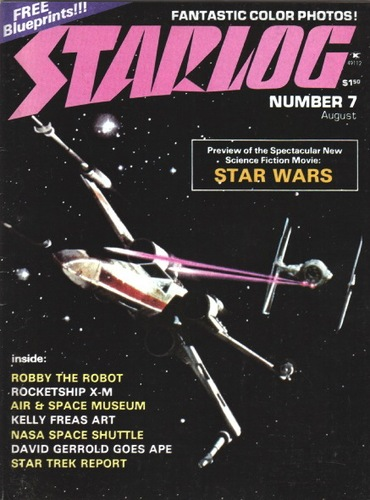 Starlog Magazine #7 comic books - cover scans photos Starlog Magazine #7 comic books - covers, picture gallery