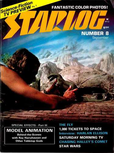 Starlog Magazine #8 comic books - cover scans photos Starlog Magazine #8 comic books - covers, picture gallery