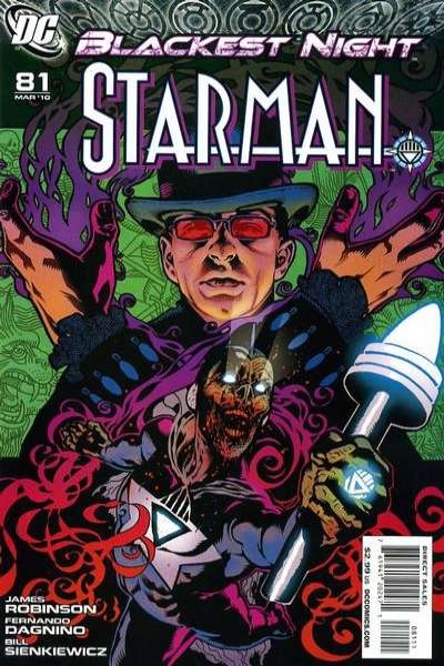Starman #81 comic books for sale