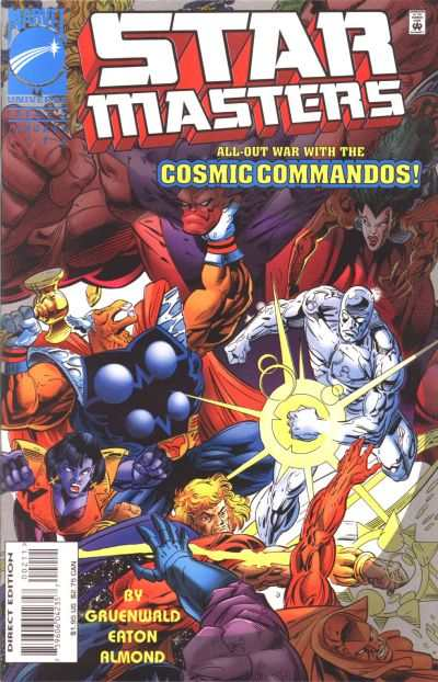 Starmasters #2 comic books - cover scans photos Starmasters #2 comic books - covers, picture gallery