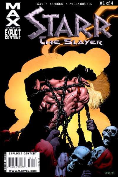 Starr the Slayer comic books