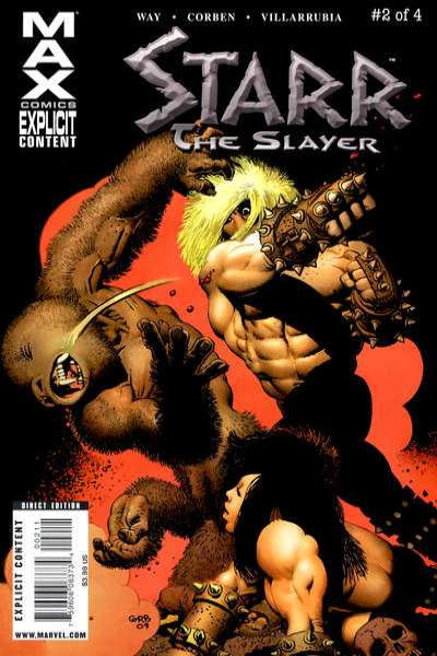 Starr the Slayer #2 comic books for sale