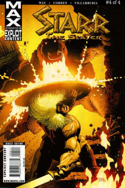Starr the Slayer #4 comic books for sale