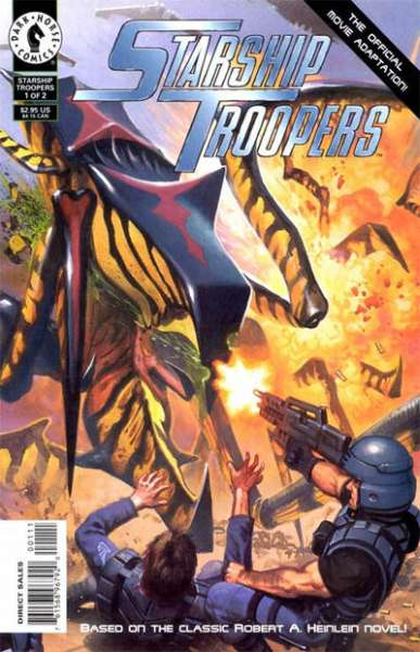 Starship Troopers #1 comic books - cover scans photos Starship Troopers #1 comic books - covers, picture gallery