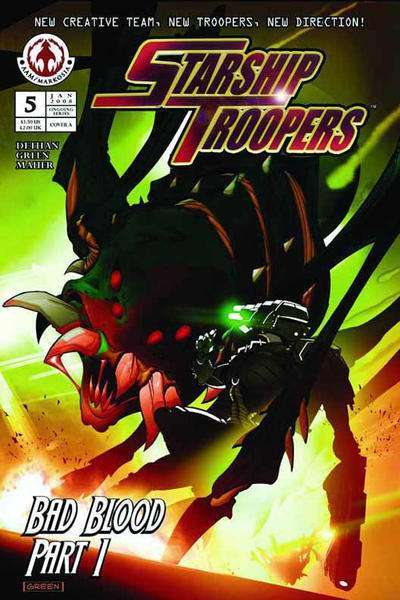 Starship Troopers #5 comic books for sale