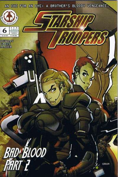 Starship Troopers #6 comic books for sale