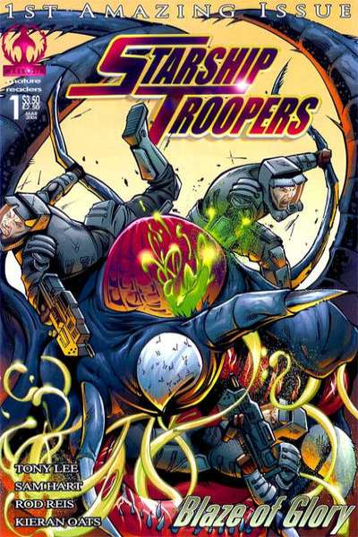 Starship Troopers: Blaze of Glory comic books