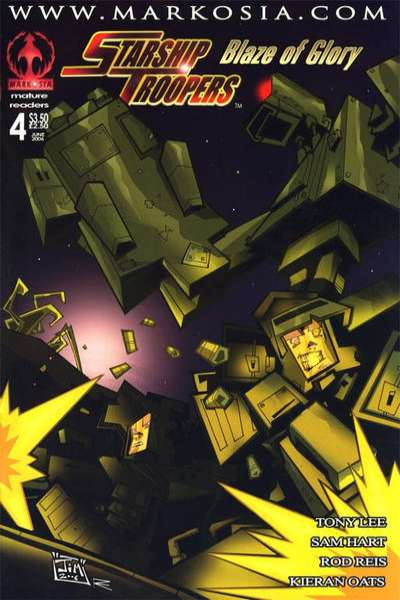 Starship Troopers: Blaze of Glory #4 comic books for sale