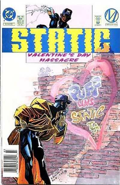 Static #10 comic books - cover scans photos Static #10 comic books - covers, picture gallery