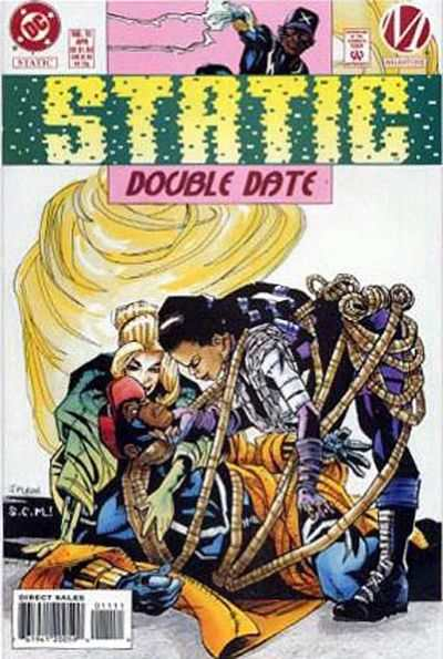 Static #11 comic books - cover scans photos Static #11 comic books - covers, picture gallery