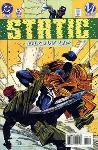 Static #6 comic books - cover scans photos Static #6 comic books - covers, picture gallery