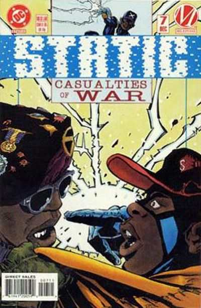 Static #7 Comic Books - Covers, Scans, Photos  in Static Comic Books - Covers, Scans, Gallery