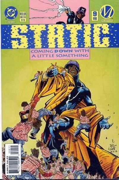 Static #9 comic books - cover scans photos Static #9 comic books - covers, picture gallery