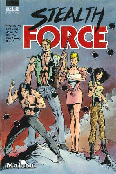 Stealth Force Comic Books. Stealth Force Comics.
