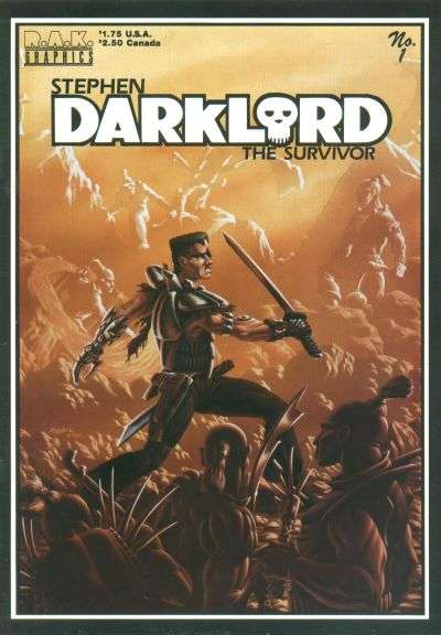 Stephen Darklord Comics comic books