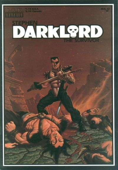 Stephen Darklord Comics #2 comic books - cover scans photos Stephen Darklord Comics #2 comic books - covers, picture gallery