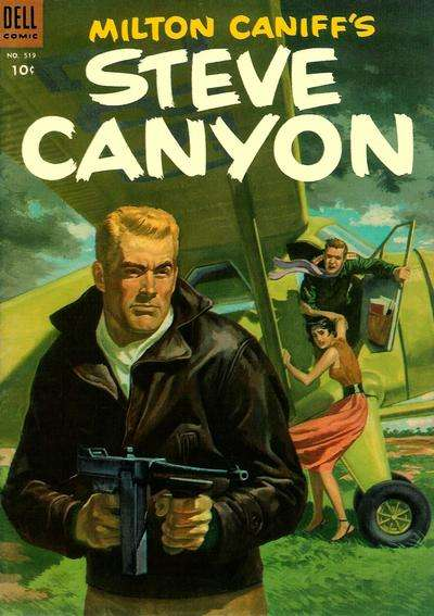 Steve Canyon Comic Books. Steve Canyon Comics.