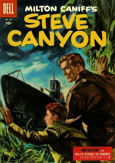 Steve Canyon #3 comic books for sale