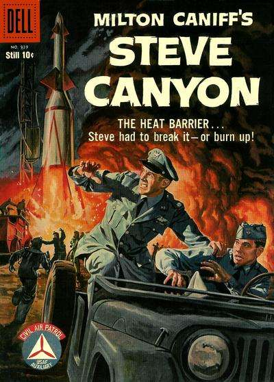 Steve Canyon #6 comic books - cover scans photos Steve Canyon #6 comic books - covers, picture gallery