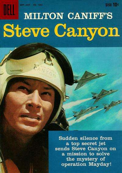 Steve Canyon #7 comic books for sale