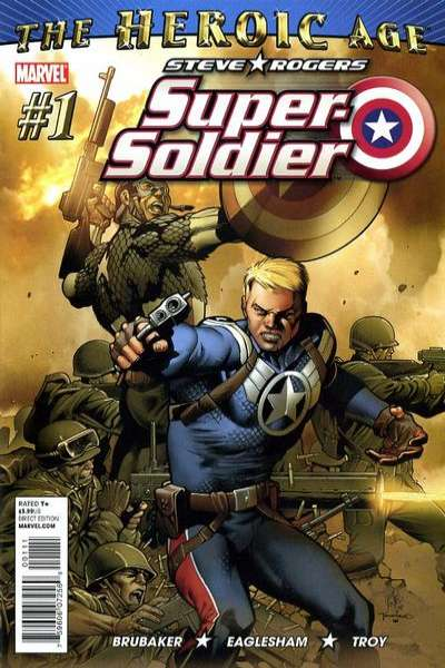 Steve Rogers: Super Soldier #1 comic books - cover scans photos Steve Rogers: Super Soldier #1 comic books - covers, picture gallery