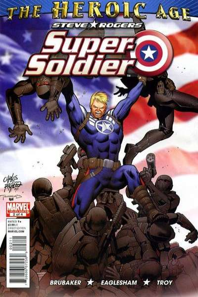 Steve Rogers: Super Soldier #2 Comic Books - Covers, Scans, Photos  in Steve Rogers: Super Soldier Comic Books - Covers, Scans, Gallery