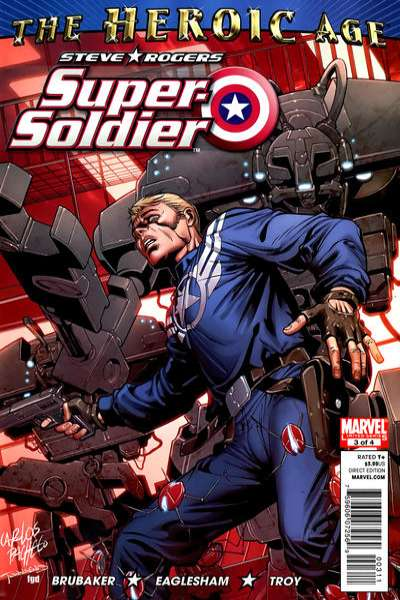 Steve Rogers: Super Soldier #3 comic books - cover scans photos Steve Rogers: Super Soldier #3 comic books - covers, picture gallery