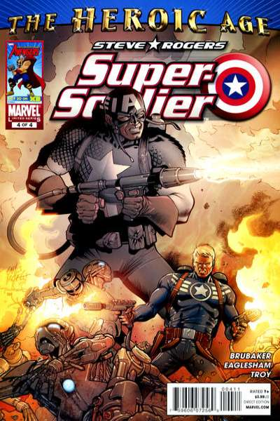 Steve Rogers: Super Soldier #4 Comic Books - Covers, Scans, Photos  in Steve Rogers: Super Soldier Comic Books - Covers, Scans, Gallery