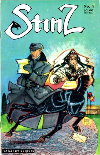 Stinz #4 comic books for sale