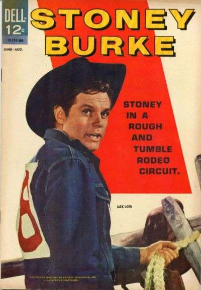 Stoney Burke comic books