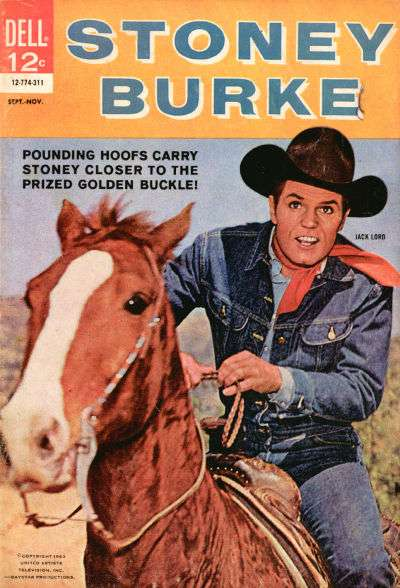 Stoney Burke #2 comic books - cover scans photos Stoney Burke #2 comic books - covers, picture gallery