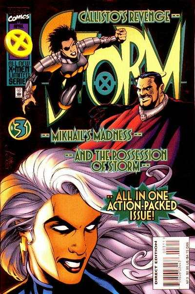 Storm #3 Comic Books - Covers, Scans, Photos  in Storm Comic Books - Covers, Scans, Gallery