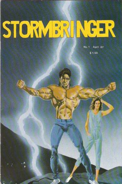 Stormbringer #1 comic books - cover scans photos Stormbringer #1 comic books - covers, picture gallery