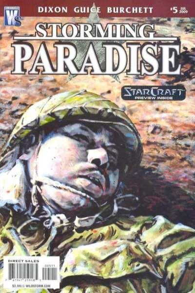 Storming Paradise #5 comic books for sale