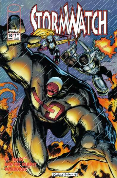 Stormwatch #10 Comic Books - Covers, Scans, Photos  in Stormwatch Comic Books - Covers, Scans, Gallery
