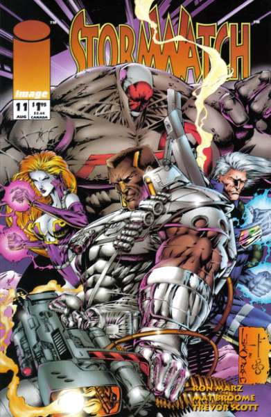 Stormwatch #11 cheap bargain discounted comic books Stormwatch #11 comic books