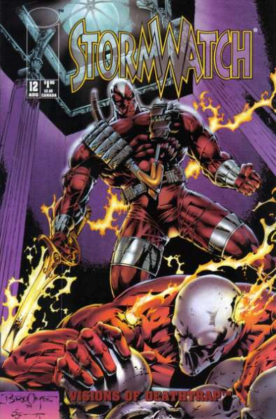 Stormwatch #12 cheap bargain discounted comic books Stormwatch #12 comic books