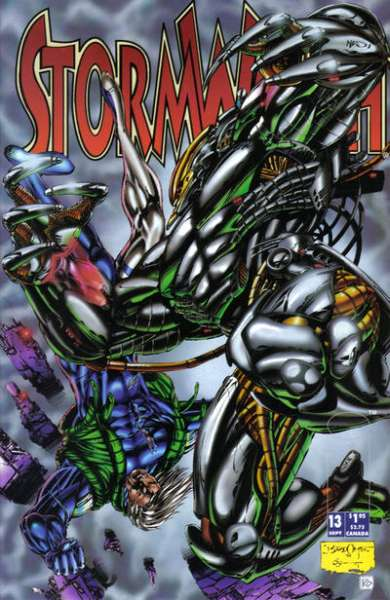 Stormwatch #13 cheap bargain discounted comic books Stormwatch #13 comic books