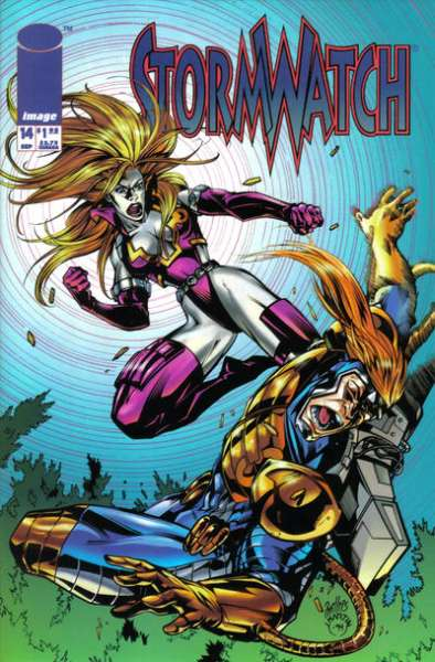 Stormwatch #14 comic books for sale