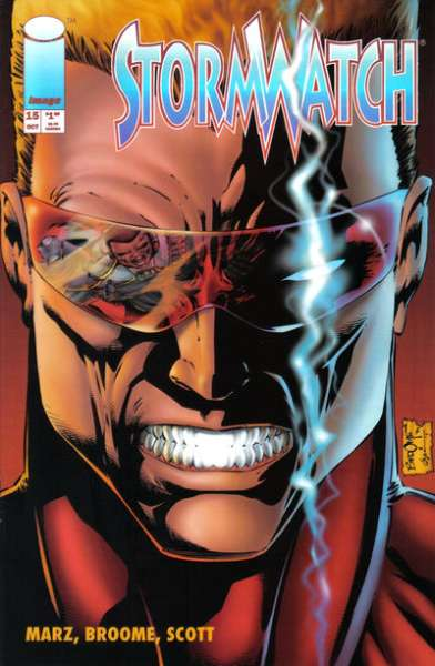 Stormwatch #15 Comic Books - Covers, Scans, Photos  in Stormwatch Comic Books - Covers, Scans, Gallery