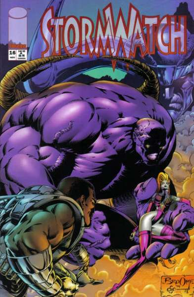 Stormwatch #16 Comic Books - Covers, Scans, Photos  in Stormwatch Comic Books - Covers, Scans, Gallery