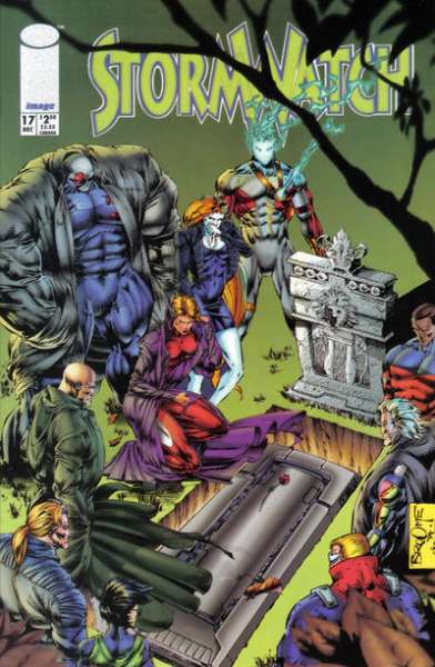 Stormwatch #17 comic books for sale