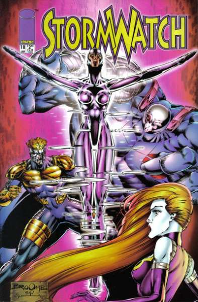 Stormwatch #18 cheap bargain discounted comic books Stormwatch #18 comic books