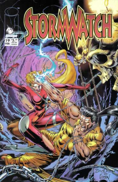 Stormwatch #19 Comic Books - Covers, Scans, Photos  in Stormwatch Comic Books - Covers, Scans, Gallery