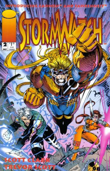 Stormwatch #2 Comic Books - Covers, Scans, Photos  in Stormwatch Comic Books - Covers, Scans, Gallery