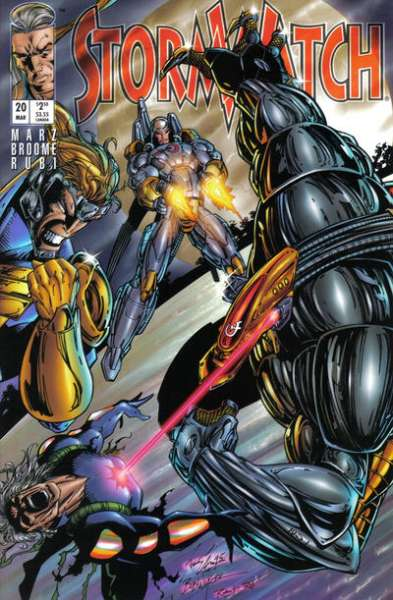 Stormwatch #20 cheap bargain discounted comic books Stormwatch #20 comic books