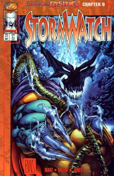 Stormwatch #22 cheap bargain discounted comic books Stormwatch #22 comic books