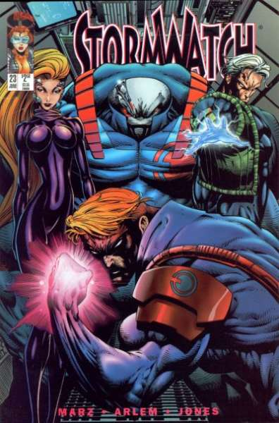 Stormwatch #23 cheap bargain discounted comic books Stormwatch #23 comic books