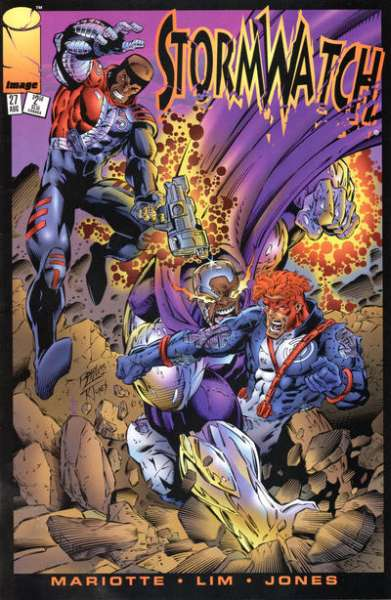 Stormwatch #27 cheap bargain discounted comic books Stormwatch #27 comic books